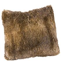 Leia Stripe Brown Kuddfodral 60x60