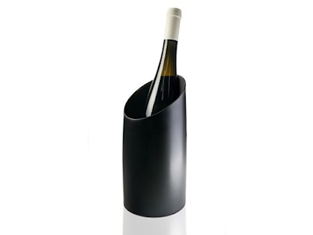Vin-& champagnekylare Svart