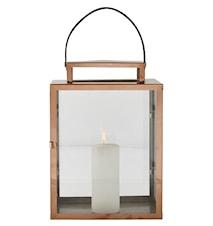 Lanterna med rem Koppar 32 cm
