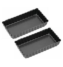 Tarteletteformar 2-pack 11x6 cm