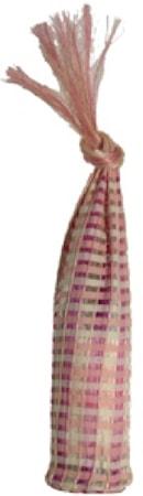 Abaca pink- Presentpåse av Bananbarksfiber