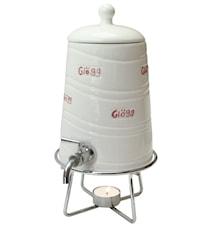 Gløgtønde med aftapningskran 1,2 liter