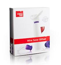 Wine Saver Concerto presentförpackning (lila/vit)