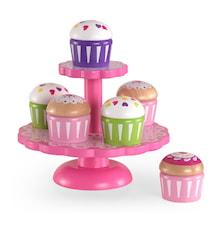 Tårtfat med Cupcakes Barn