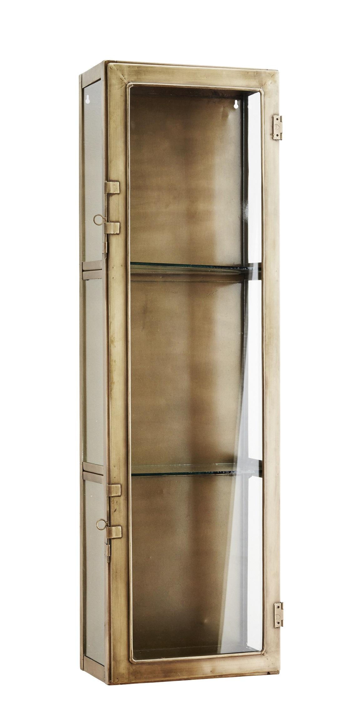 Iron glass shelf vägghylla