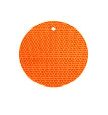 Grydelap Rund Orange