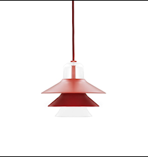 Ikono Lampa Röd S