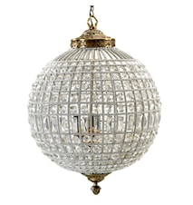 Crystal lamp taklampa - Large