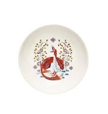 Taika Syvä lautanen 22 cm valkoinen
