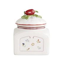 Petite Fleur Charm Saltbox