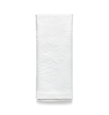 Tygservett, Birds, vit, 45x45 cm