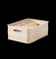 SAVE-IT oppbevaringsbokser, 5 st.