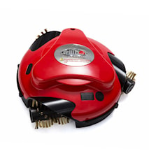 Grillbot Robot för Grillrengöring Röd
