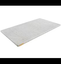 Paistolevy Valkoinen Marmori 70x40x2 cm