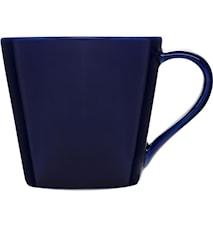 Brazil mugg, mörkblå