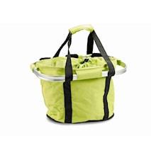 Cykel shoppingbasket Lime