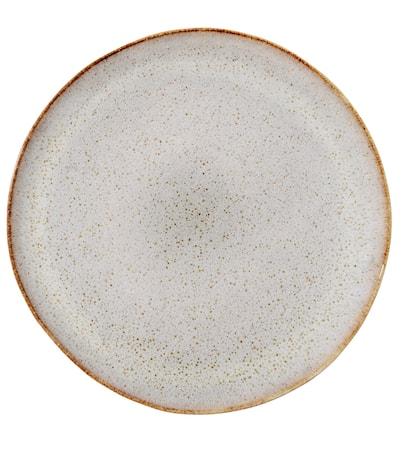 Sandrine lysegrå tallerken