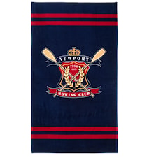 Rowing Club beach towel