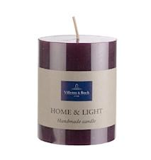 Essent.Candles Pillar Lilac 7x9cm