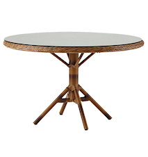 Grace runt matbord - Inkl glasskiva