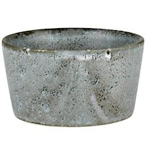 Ramekin Ø9 H4,5 grå sten Bitz