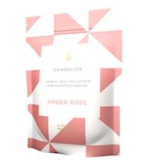 Doftljus refill - Amber Rose 300g
