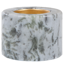 Värmesljushållare Blå marmor 5,5 cm Ø 7 cm