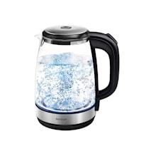 Vattenkokare Transparent Glas 2 liter