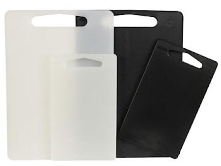 Skärbräda 2-pack i plast