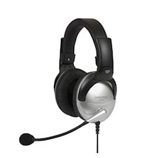 Headset SB45 Svart-Silver