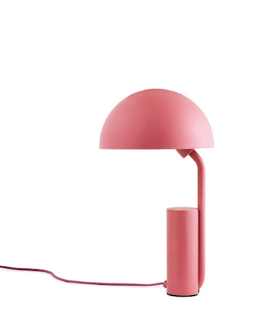 Normann Copenhagen Cap Pöytälamppu Rosa