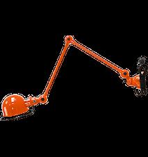 Loft D4401 Vägglampa 40+40x15 cm m. sladd + brytare