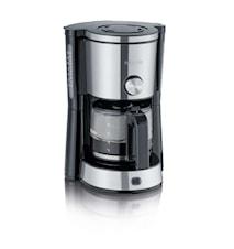 Kaffebryggare med Arominställning, 10 koppar, Rostfritt stål