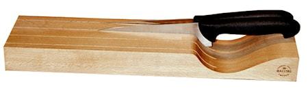 Liggande Knivblock 4 knivar