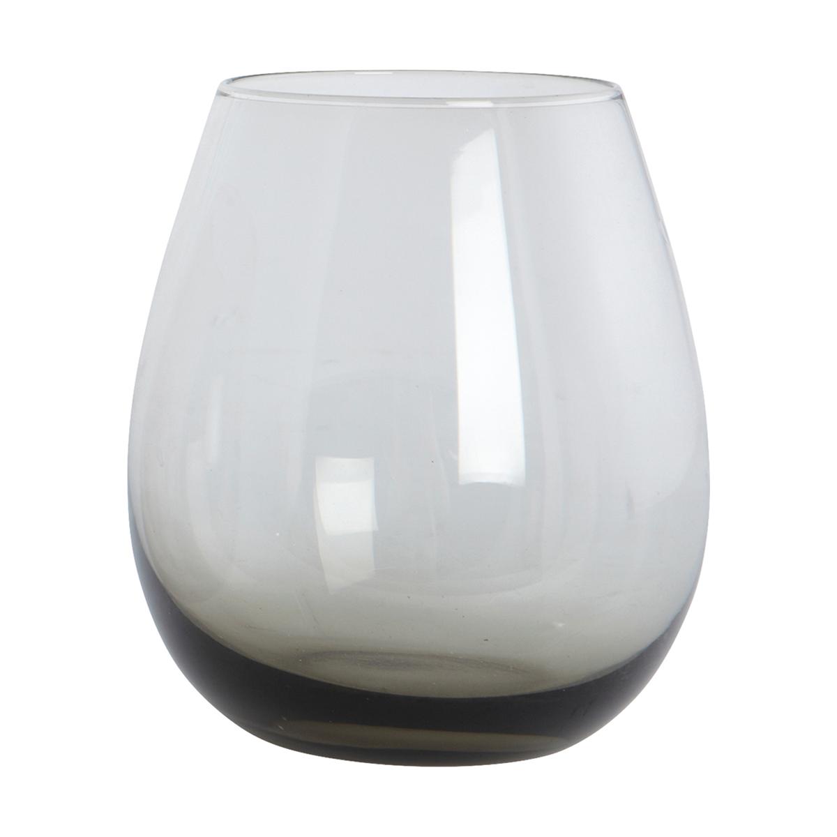 Ball Vattenglas Grå 10 cm