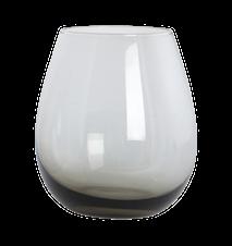 Vattenglas Ball 10 cm - Grå