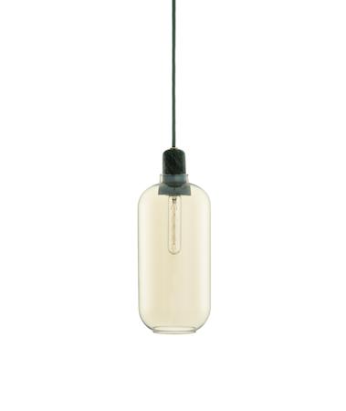 Amp Lampa Guld/Grön L