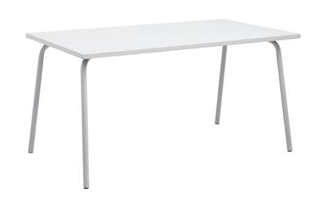 Trädgårdsbord 80x140 cm - Grå
