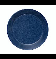 Teema tallerken 17 cm melerad blå