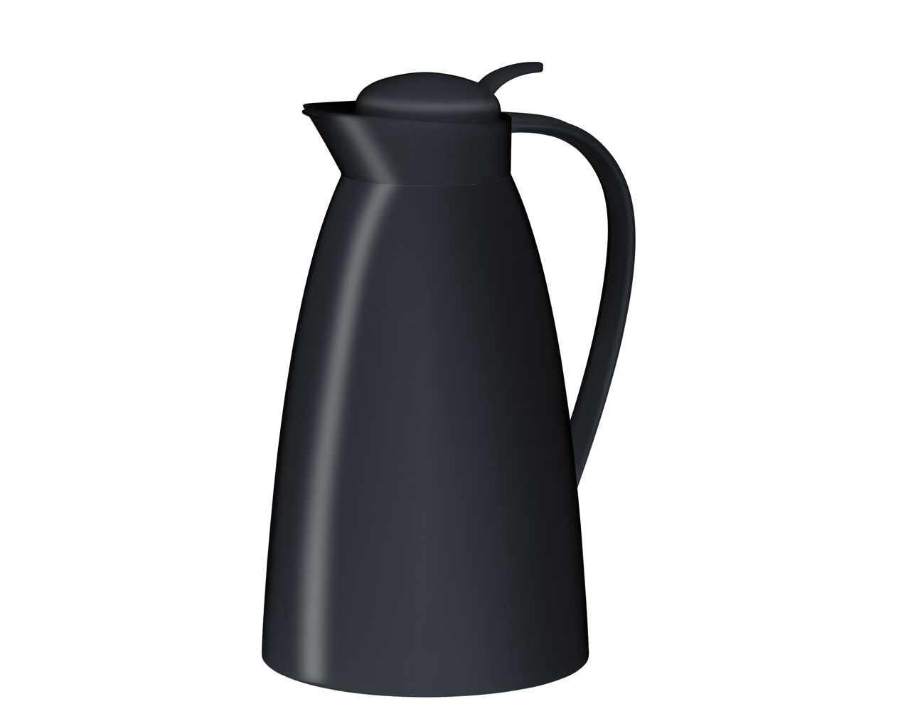 Eco termoskanna svart, 1 liter