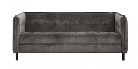 Soffa Sammet Warm grey