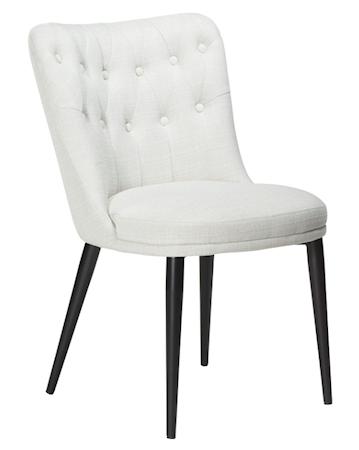 Chester stol - Crème/svart