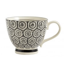 Mugg Black Pattern