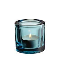 Kivi ljuslykta 60mm havsblå /presentfrp