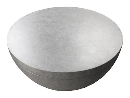 Douglas Soffbord Cement Ø80 cm