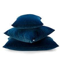 Velluto Kuddöverdrag - mörkblå