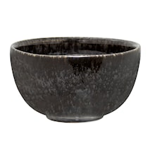 Noir Skål Sort Stentøj 12x6,5 cm