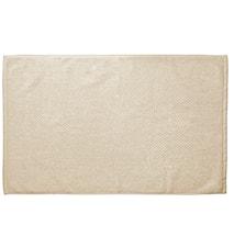 Baderomsmatte 100% bomull Sand 80x50 cm
