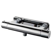 168-160 Dusjbatteri med termostat Krom