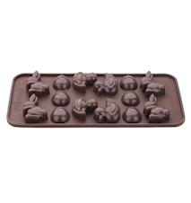 Chokladform påsk
